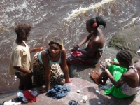 Wash day in the Congo