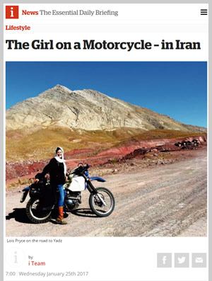 The Girl on a Motorcycle – in Iran